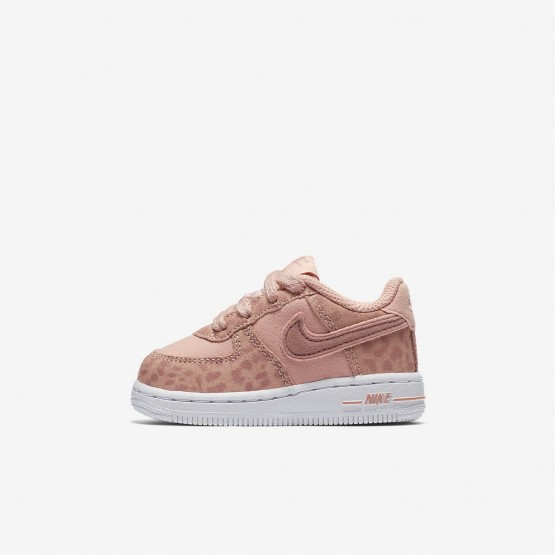 Chaussure Casual Nike Air Force 1 LV8 Fille Corail/Blanche/Rose 865RNSEC