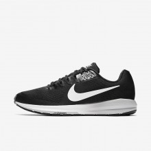 Nike Air Zoom Structure 21 Running Shoes For Men Black/Wolf Grey/Cool Grey/White 882RLBTK