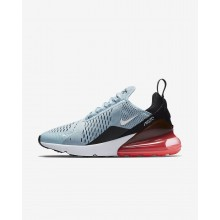 Womens Ocean Bliss/Black/Hot Punch/White Nike Air Max 270 Lifestyle Shoes 908WZRGN