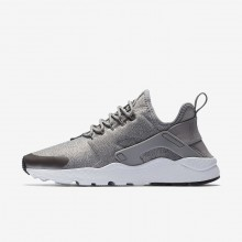 Nike Air Huarache Ultra SE Lifestyle Shoes For Women Dust/Metallic Pewter/Black 909BIEOS