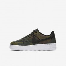Nike Air Force 1 LV8 Lifestyle Shoes For Boys Medium Olive/Baroque Brown/Sequoia/Black 910PRJLN