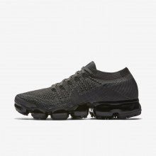Nike Air VaporMax Flyknit Running Shoes For Women Midnight Fog/Black/College Navy/Multi-Color 925MGIWZ