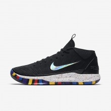 Mens Black/Multi-Color Nike Kobe A.D. The Moment Basketball Shoes 949COJGS