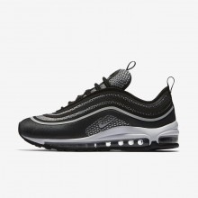 Womens Black/Anthracite/White/Pure Platinum Nike Air Max 97 Ultra 17 Lifestyle Shoes 960PCZMX