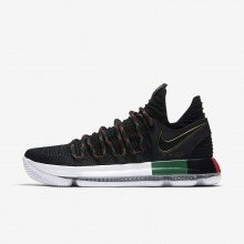 Nike Zoom KDX BHM Basketball Shoes For Women Black/Multi-Color 970BUFHO