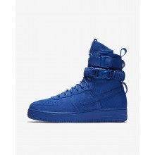 Mens Game Royal Nike SF Air Force 1 Lifestyle Shoes 970FPJOY