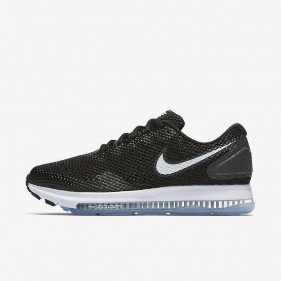 Womens Black/Anthracite/White Nike Zoom All Out Low 2 Running Shoes 994YEJAO